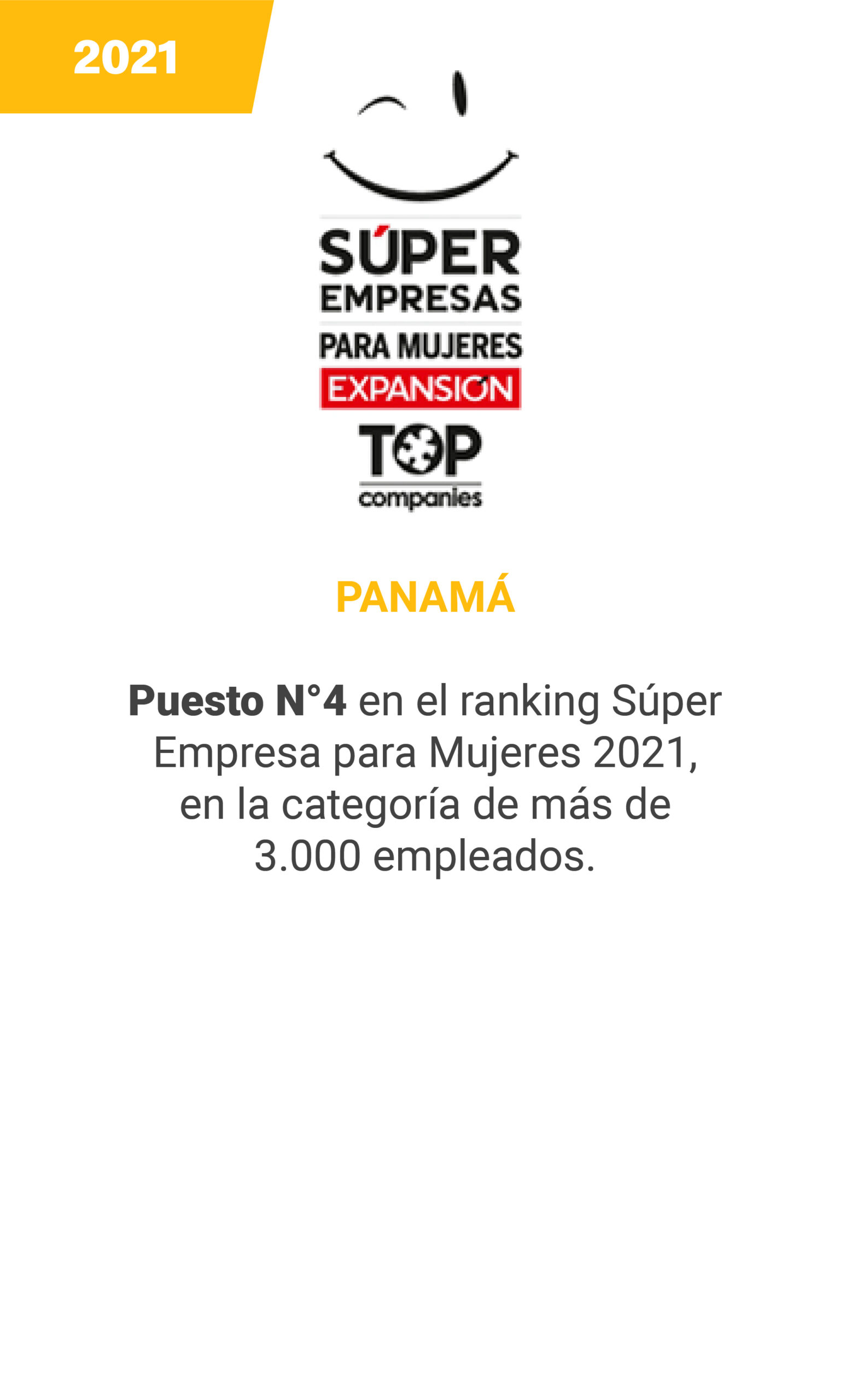 Super Empresas 2021 Mujeres - mobile