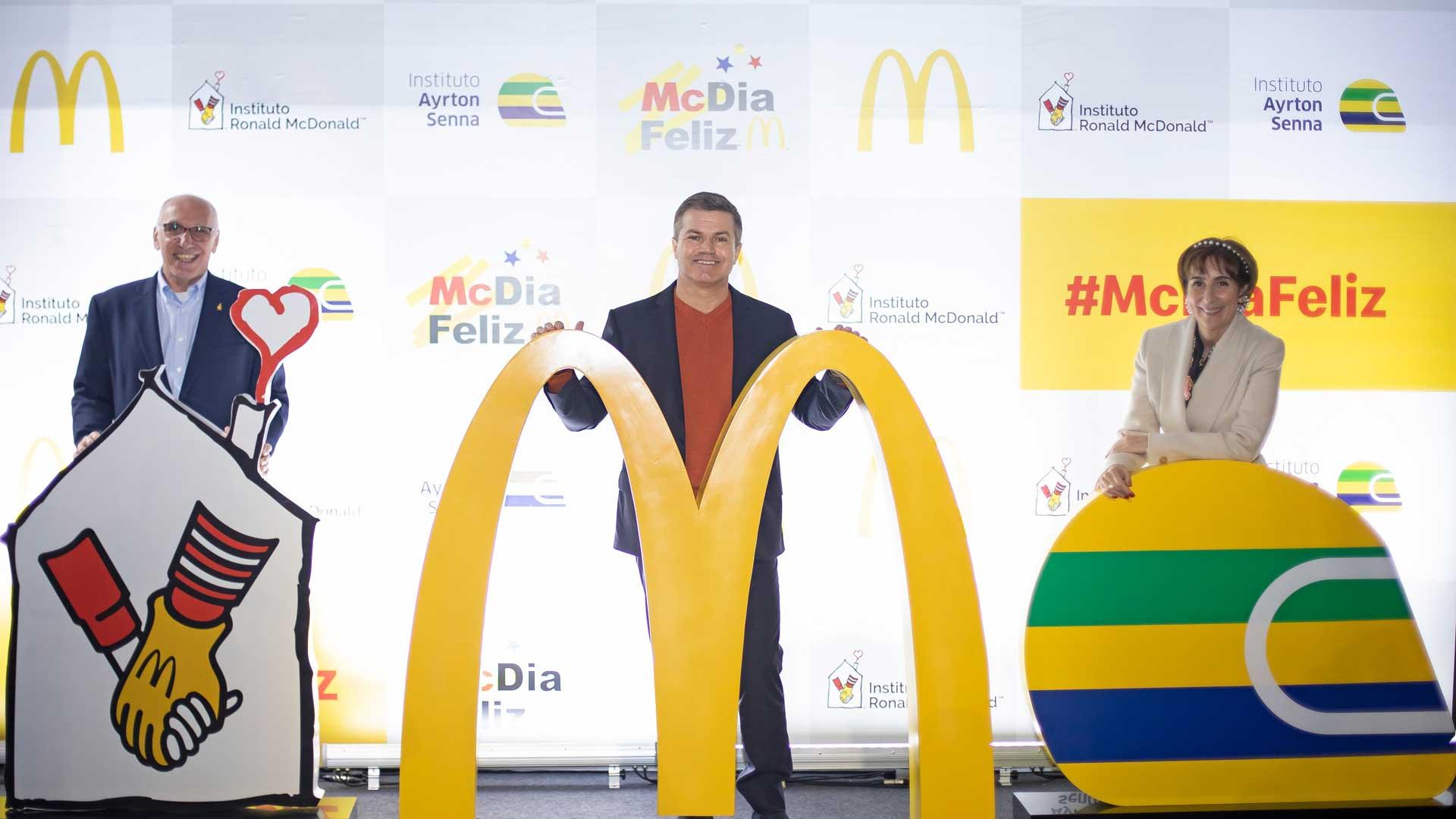 [Brasil] McDia Feliz 2020 será realizado em 21 de novembro