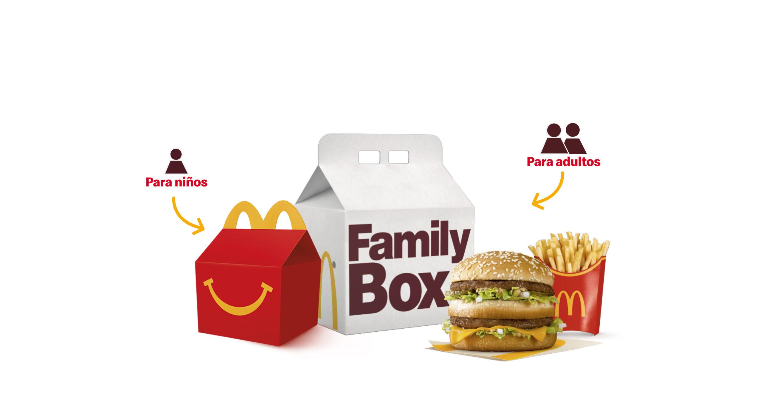 [Chile] Este fin de semana ¡La Family Box viene con doble juguete!