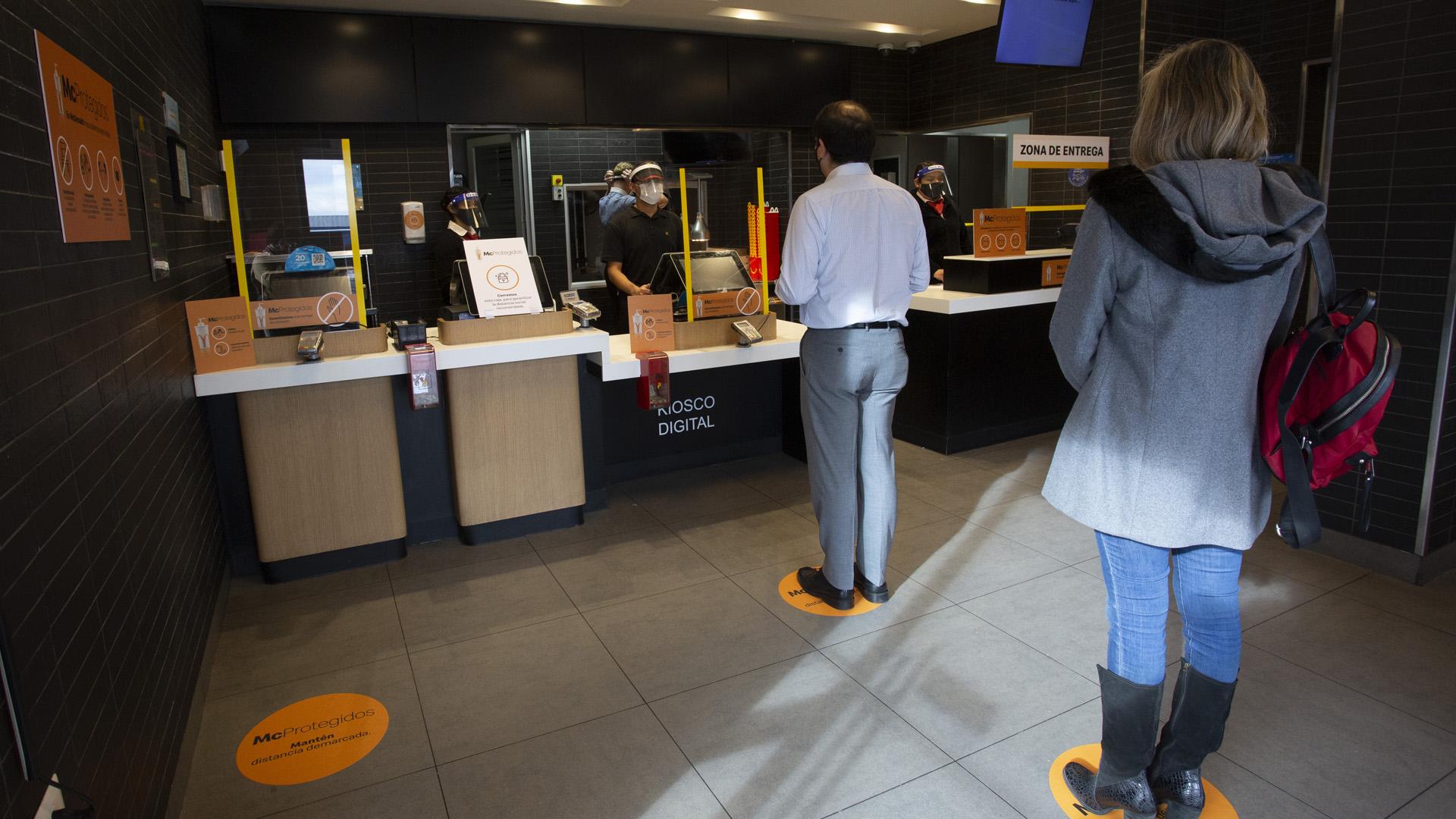 [Chile] McDonald's prepara sus restaurantes de la Región de Coquimbo para la futura nueva realidad  de los chilenos