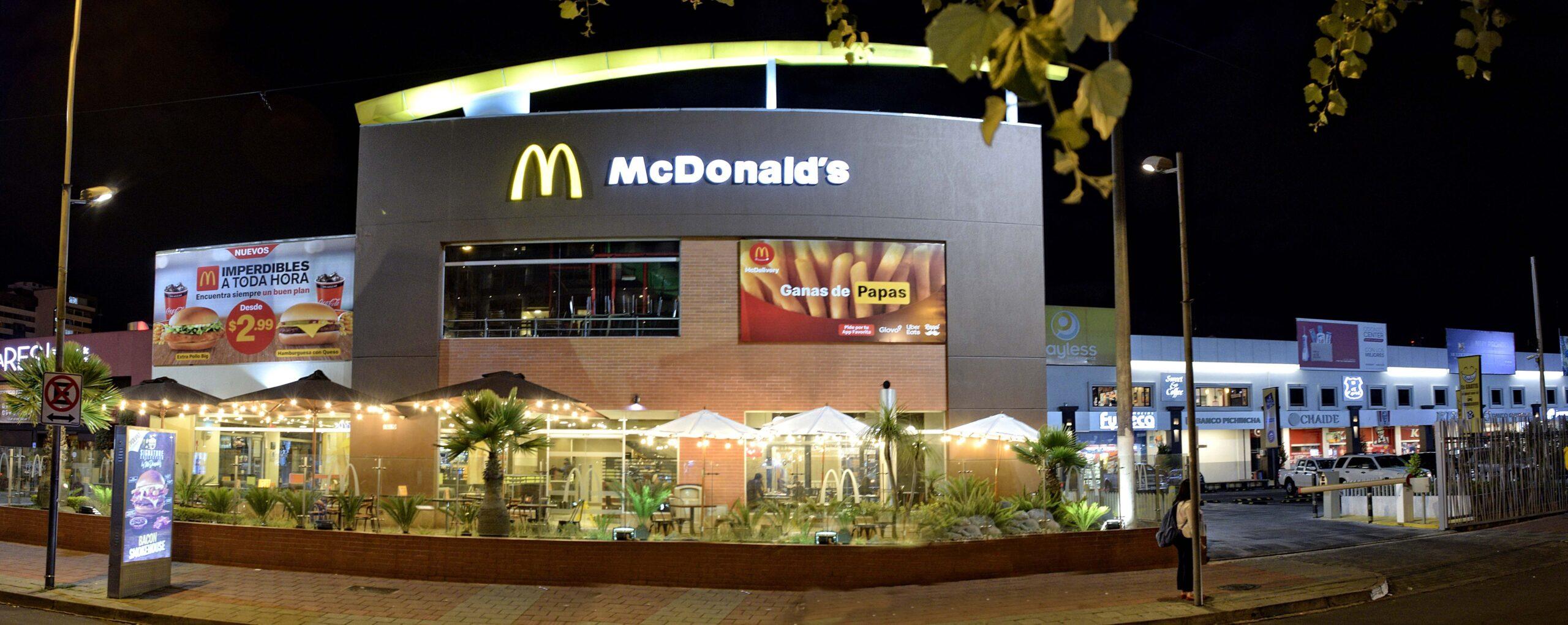 [Ecuador] McDonald's adapta sus locales en Ecuador con nuevos espacios exteriores para consumir al aire libre