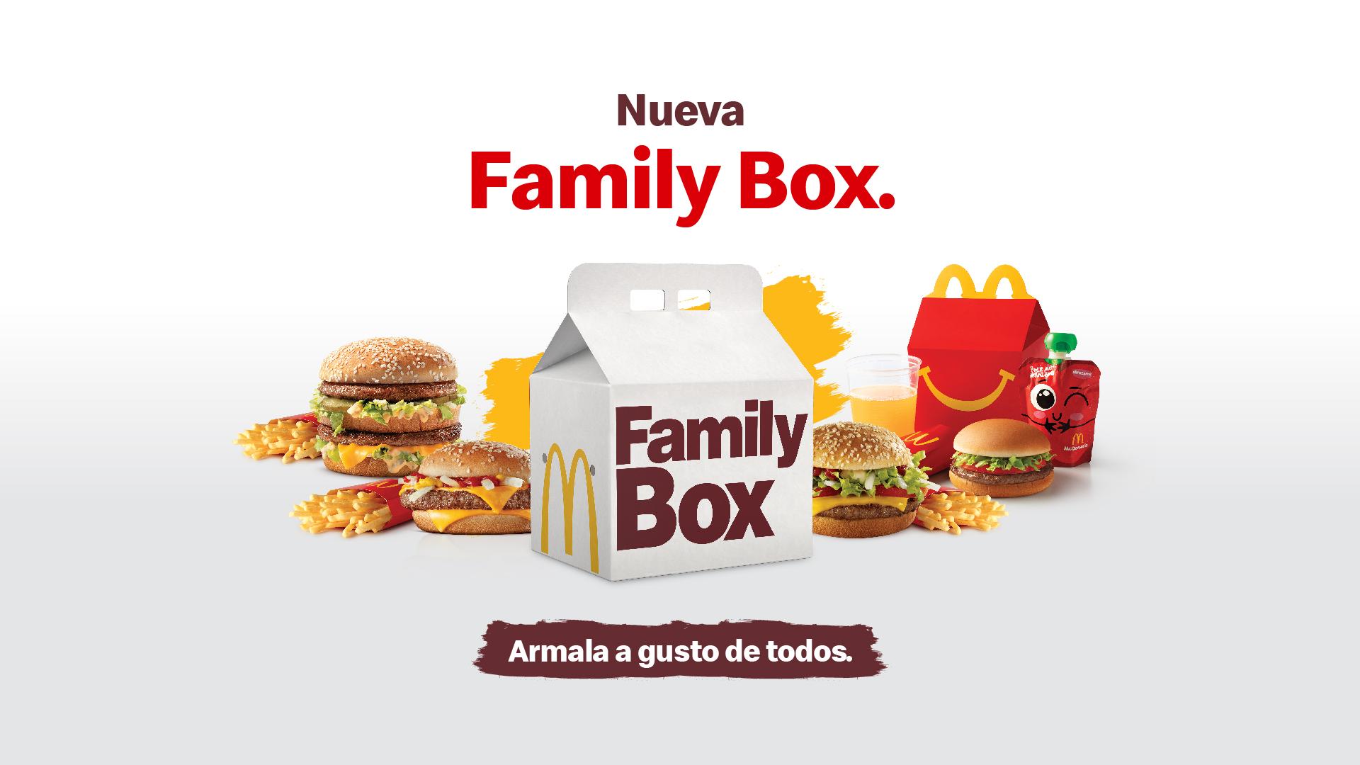 [Costa Rica] Family Box de McDonald's llega con variedad de opciones y precios favorables