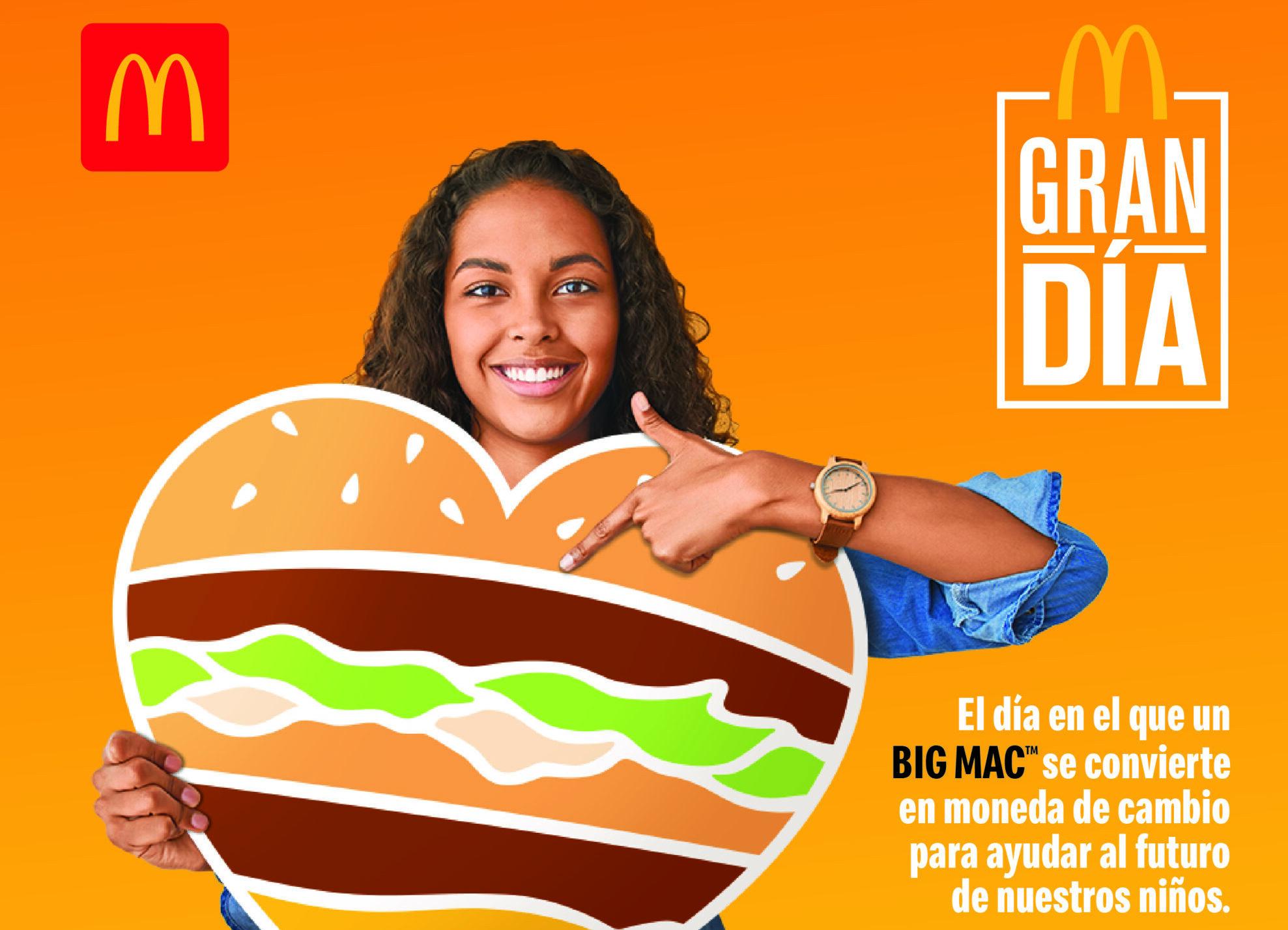 [Panamá] Regresa la jornada solidaria del Big Mac para apoyar el bienestar infantil y la formación de jóvenes