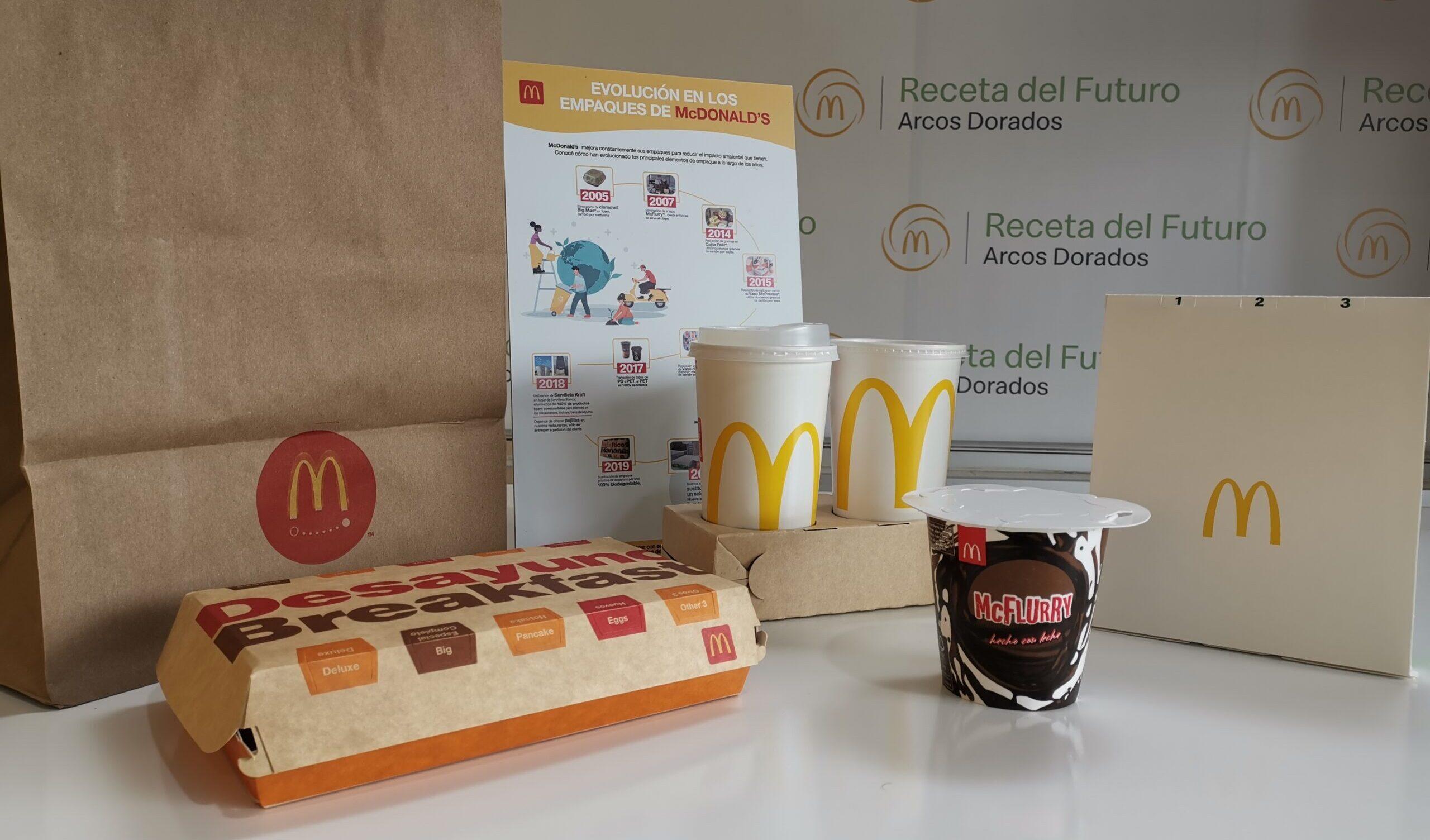 [Costa Rica] Nuevos empaques de McDonald's evitarán el uso de más de 16 millones de plásticos anuales