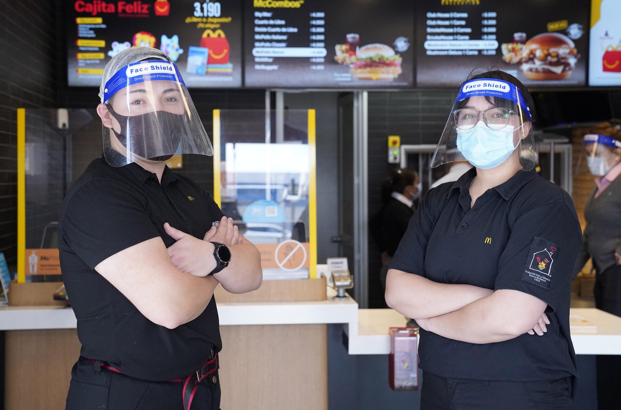 [Chile] McDonald's anuncia primera reapertura a público en Temuco y continúa apertura de terrazas en la Región Metropolitana