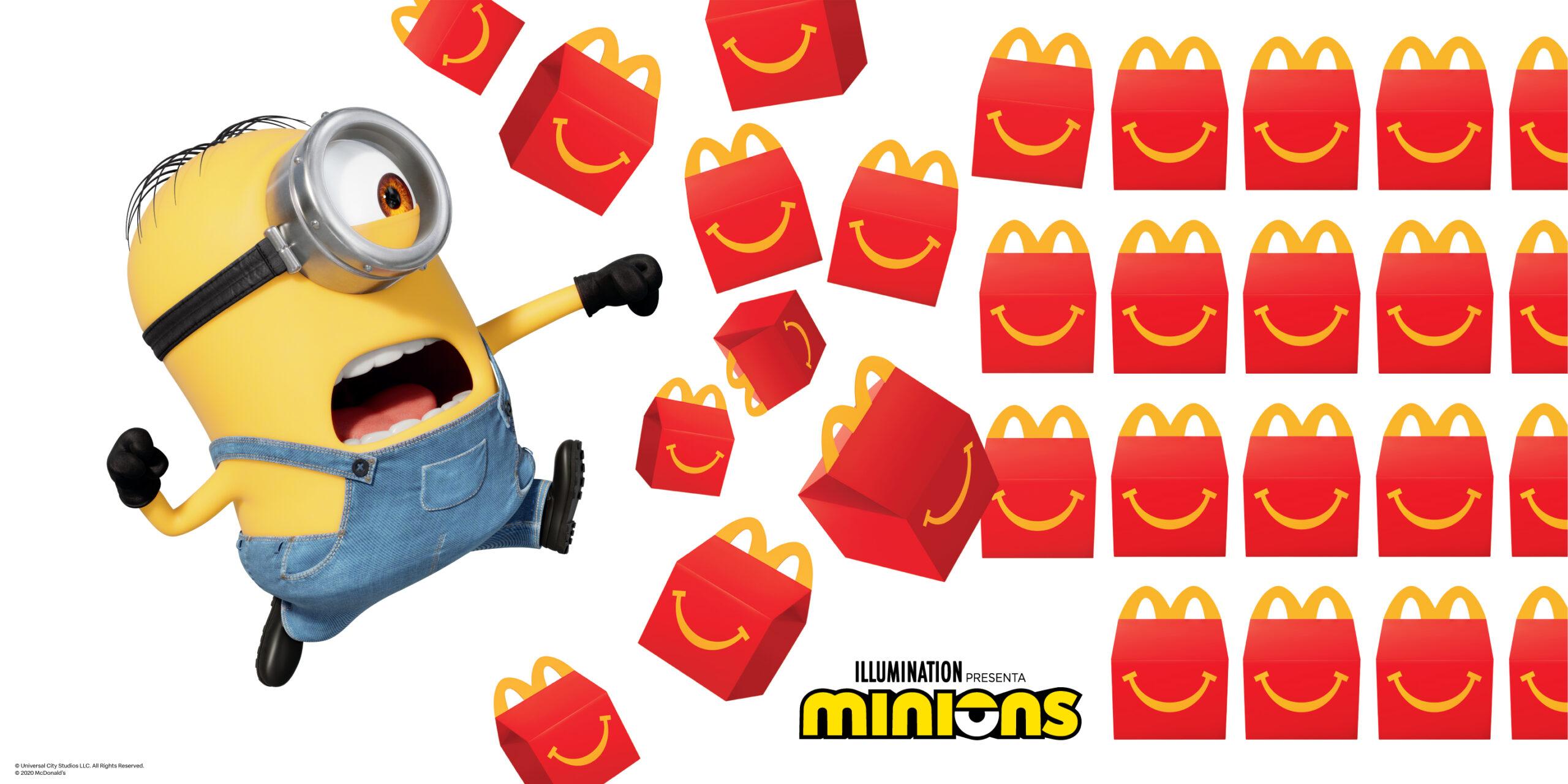 McDonald's lanza la colección de Minions en su Cajita Feliz