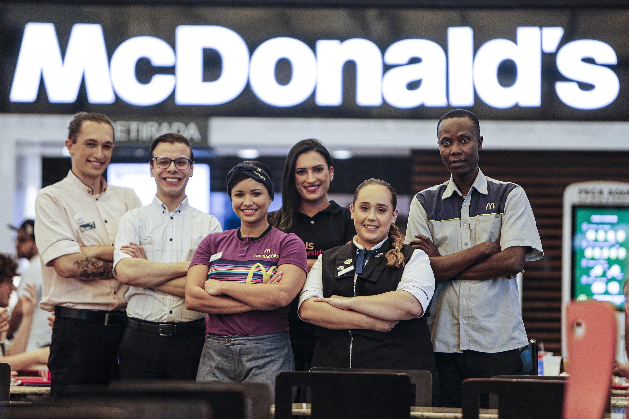 [Brasil] McDonald's anuncia a abertura de mais de 3 mil vagas em todo Brasil