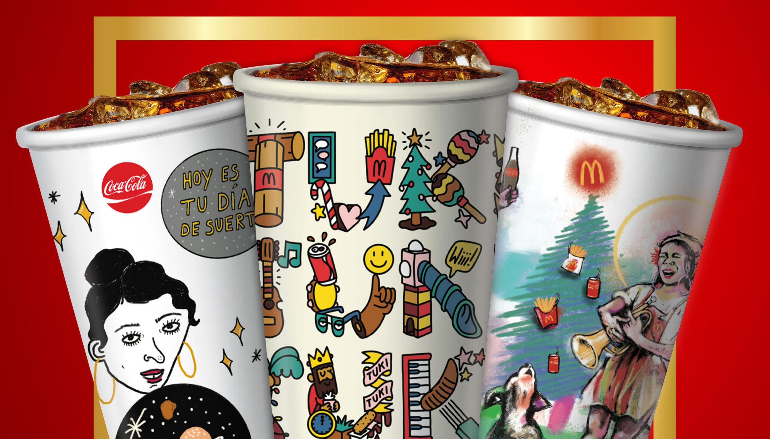 [Puerto Rico] McDonald's celebra el arte puertorriqueño en su colección de vasos de Navidad