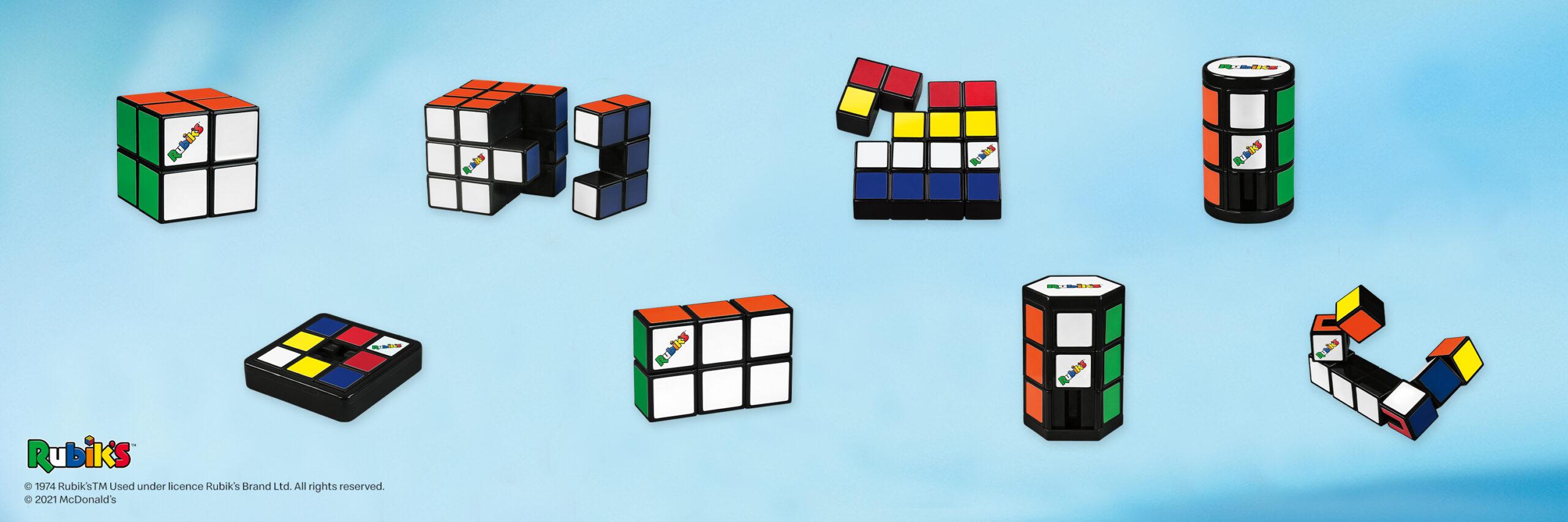 La Cajita Feliz le da la bienvenida a nuevos desafíos para toda la familia con los juguetes de Rubik's®
