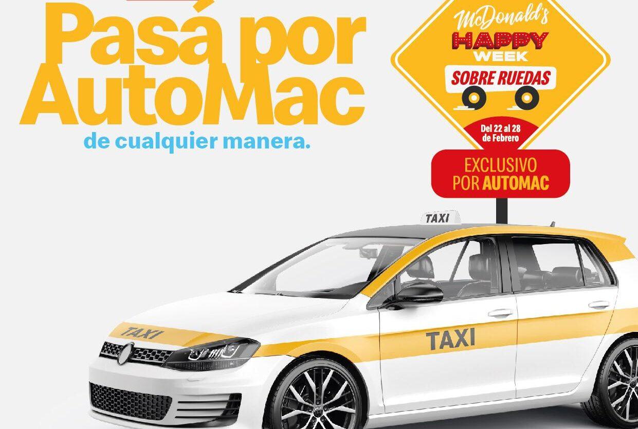 [Uruguay] Llega la Happy Week sobre ruedas a McDonald's