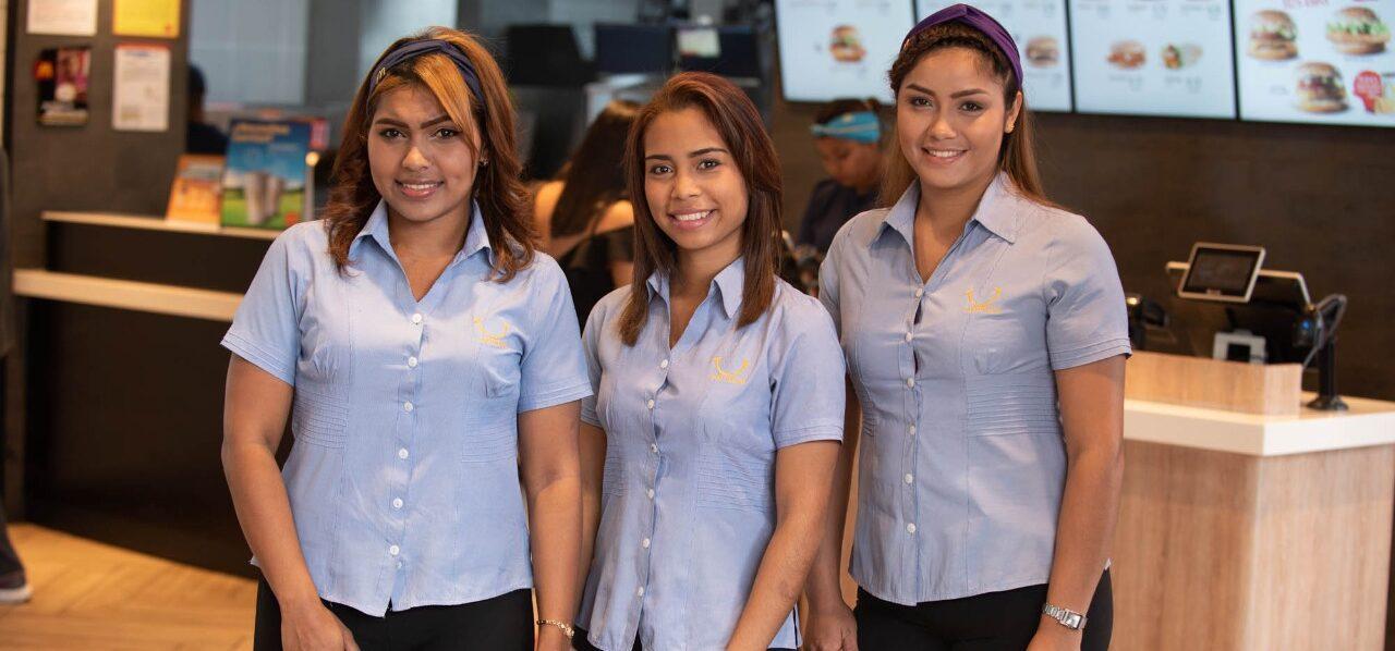 [Panamá] Mujeres representan el 59% de la fuerza laboral de Arcos Dorados Panamá