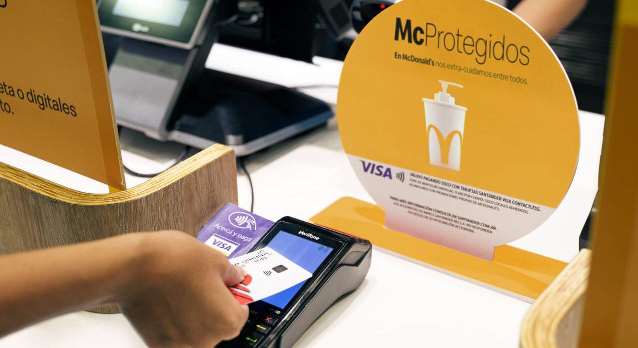 [Argentina] Arcos Dorados y Visa se unen para lanzar Contactless en los más de 200 locales de McDonald's de todo el país