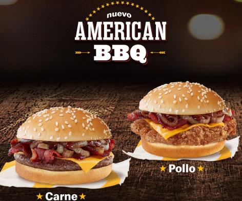 [Venezuela] McDonald's presenta su nueva hamburguesa American BBQ