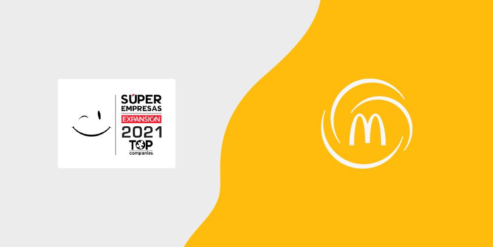 [México] Arcos Dorados, la mayor franquicia independiente de McDonald's, es reconocida como una Súper Empresa