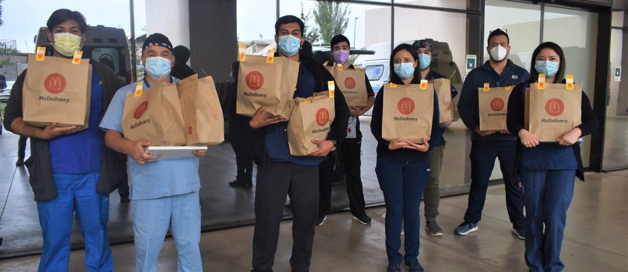 [Chile] Arcos Dorados sigue reconociendo al personal  sanitario y de salud que combate el Covid-19