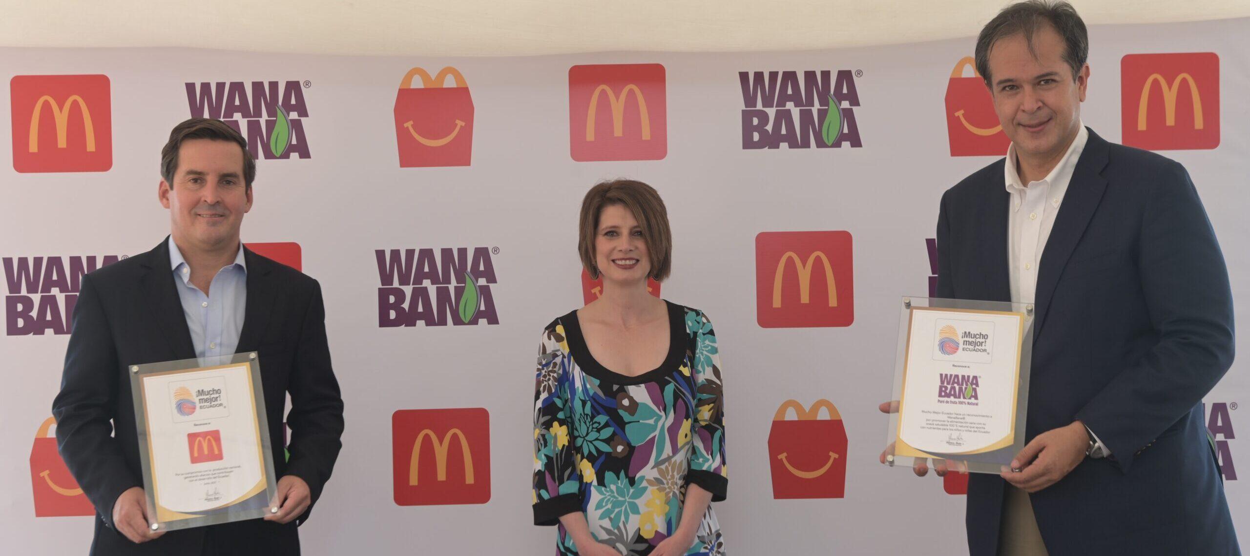 [Ecuador] McDonald's incluye a WanaBana en su Cajita Feliz, un snack saludable producido en Ecuador