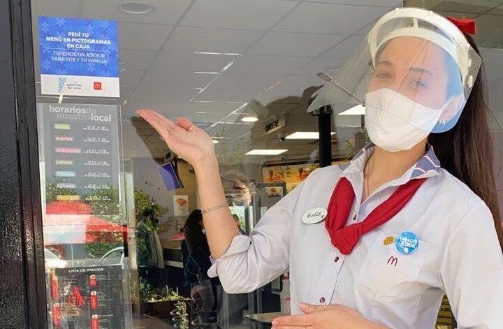"""[Argentina] McDonald's presenta el proyecto """"Espacio Azul"""" que busca mayor inclusión de las personas con Trastorno del Espectro Autista en sus locales"""