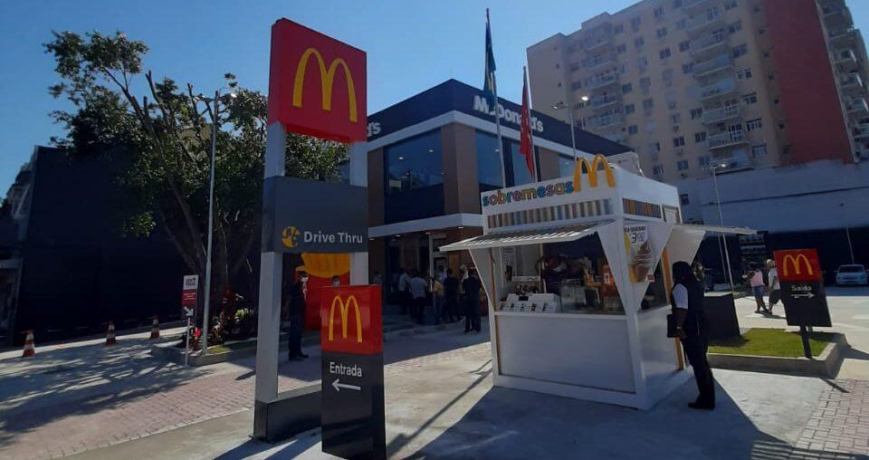 [Brasil] McDonald's abre mais um restaurante em Cascadura