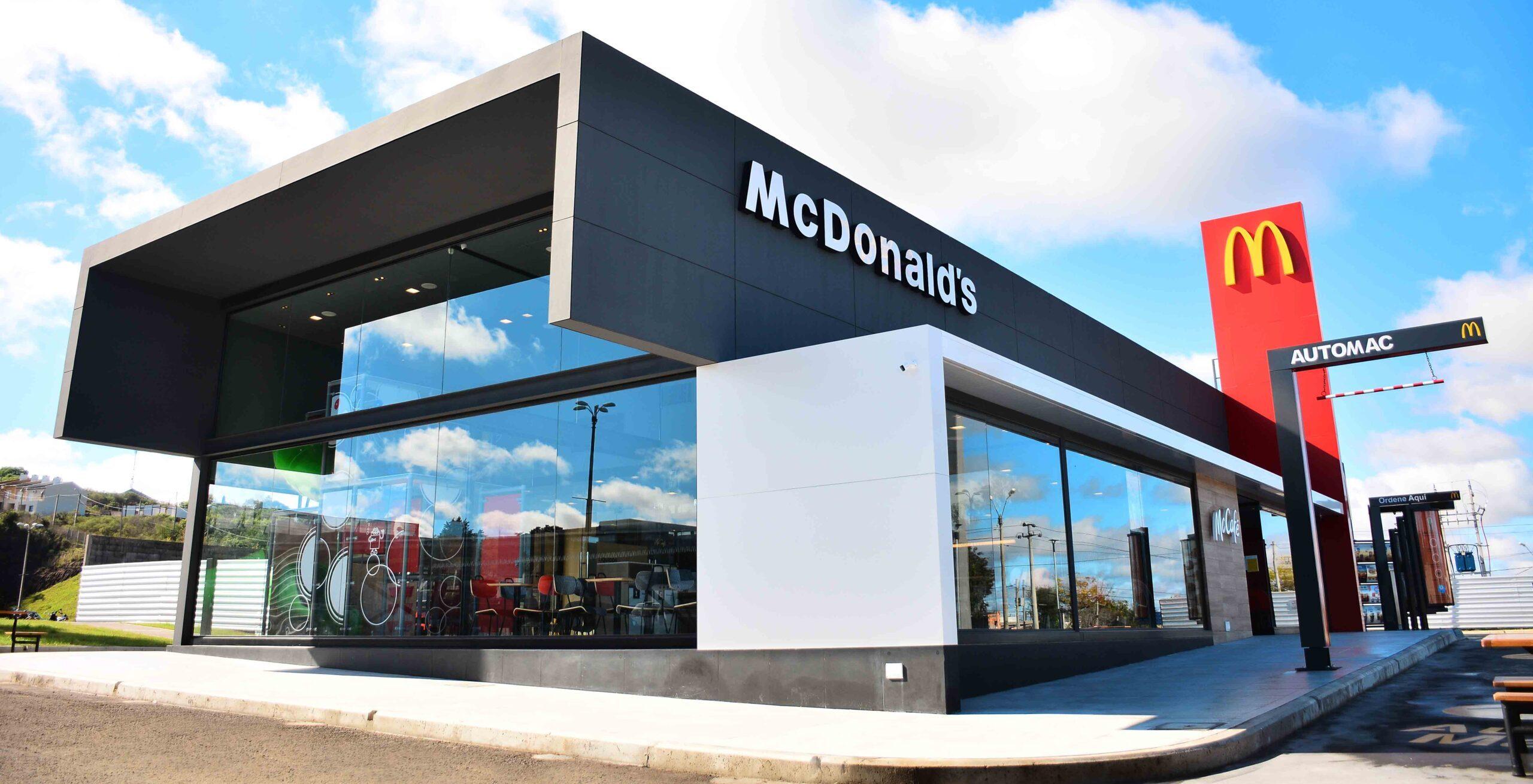 [Uruguay] McDonald's abrió un restaurante en Rivera en  el Shopping Siñeriz