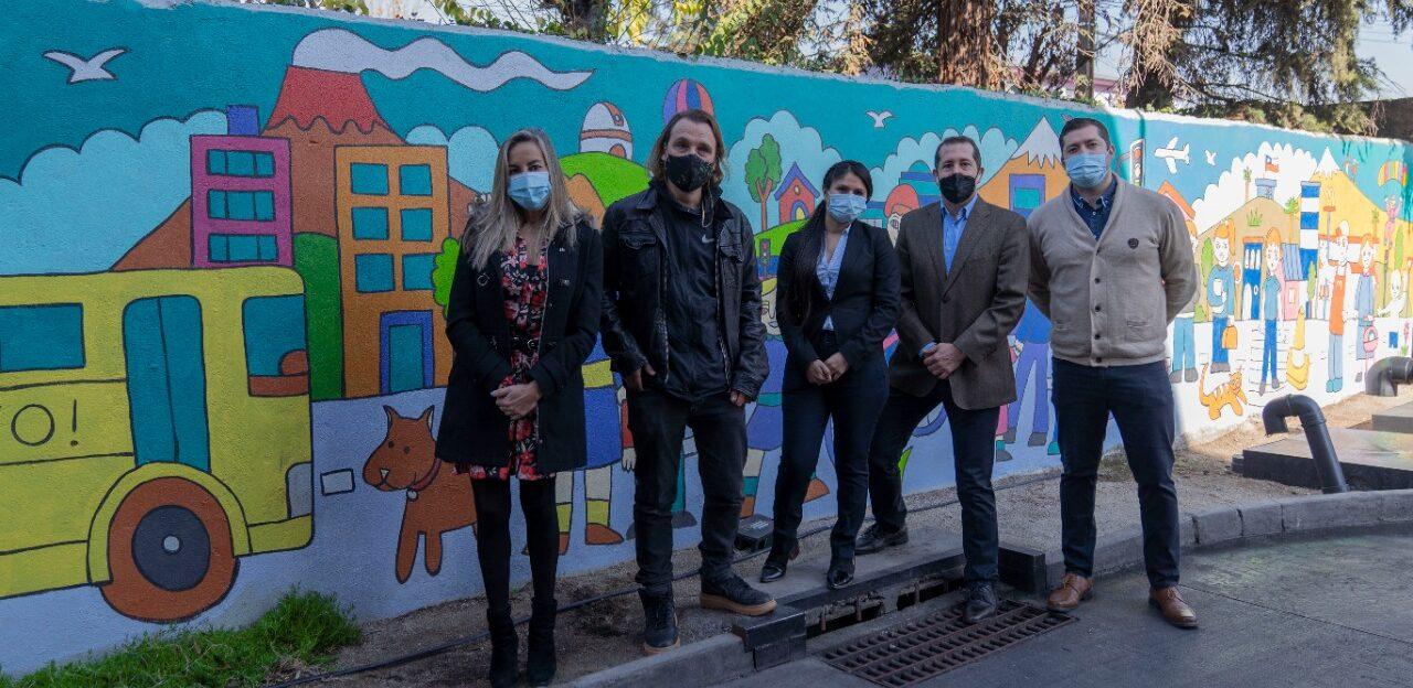 [Chile] McDonald's presenta mural sustentable que purifica y descontamina el aire