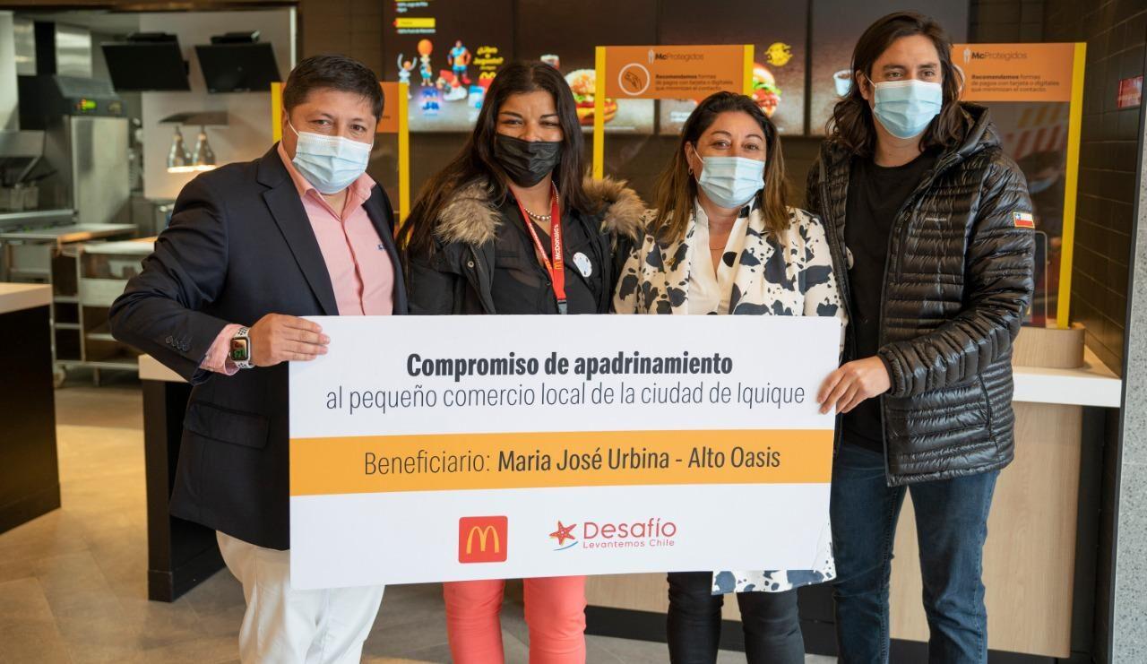 [Chile] Arcos Dorados Chile reabre su restaurant McDonald's de Iquique y continúa apoyando a emprendedores del país