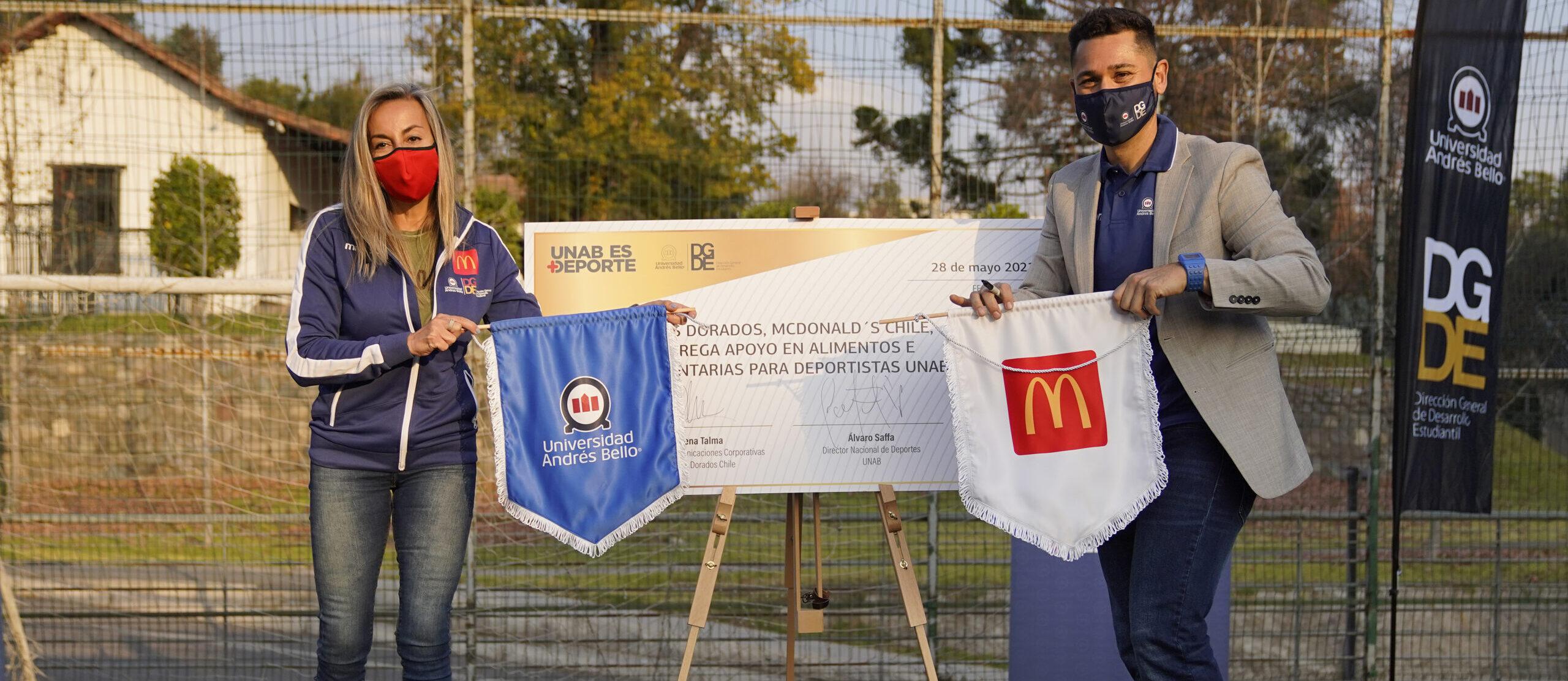 [Chile] Universidad Andrés Bello (UNAB) presenta a Arcos Dorados Chile como el nuevo socio de su proyecto deportivo a nivel país