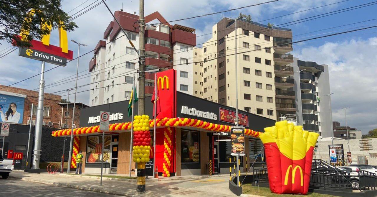 [Brasil] McDonald's inaugura seu 59º restaurante em Minas Gerais