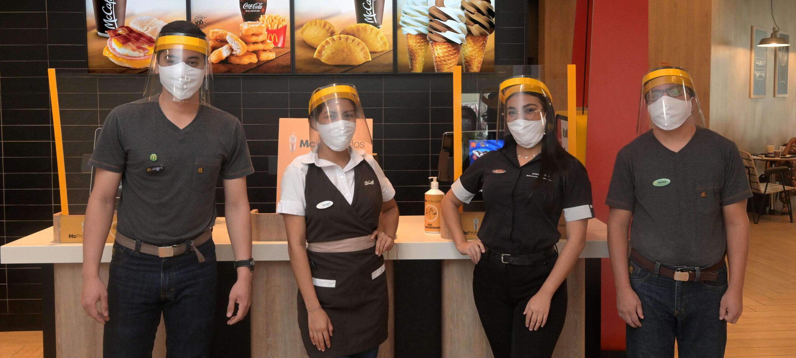[Ecuador] McDonald's invierte abriendo un nuevo restaurante que genera nuevos empleos para jóvenes y fomenta la producción local para sumar a la reactivación económica del país en la pandemia