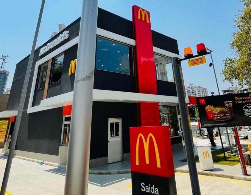 [Brasil] McDonald's inaugura seu 60º restaurante em Minas Gerais
