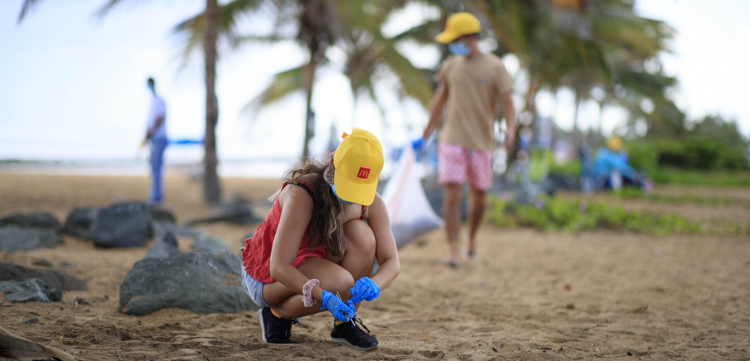 [Puerto Rico] McDonald's se unió a Scuba Dogs Society para la Limpieza Internacional de Costas